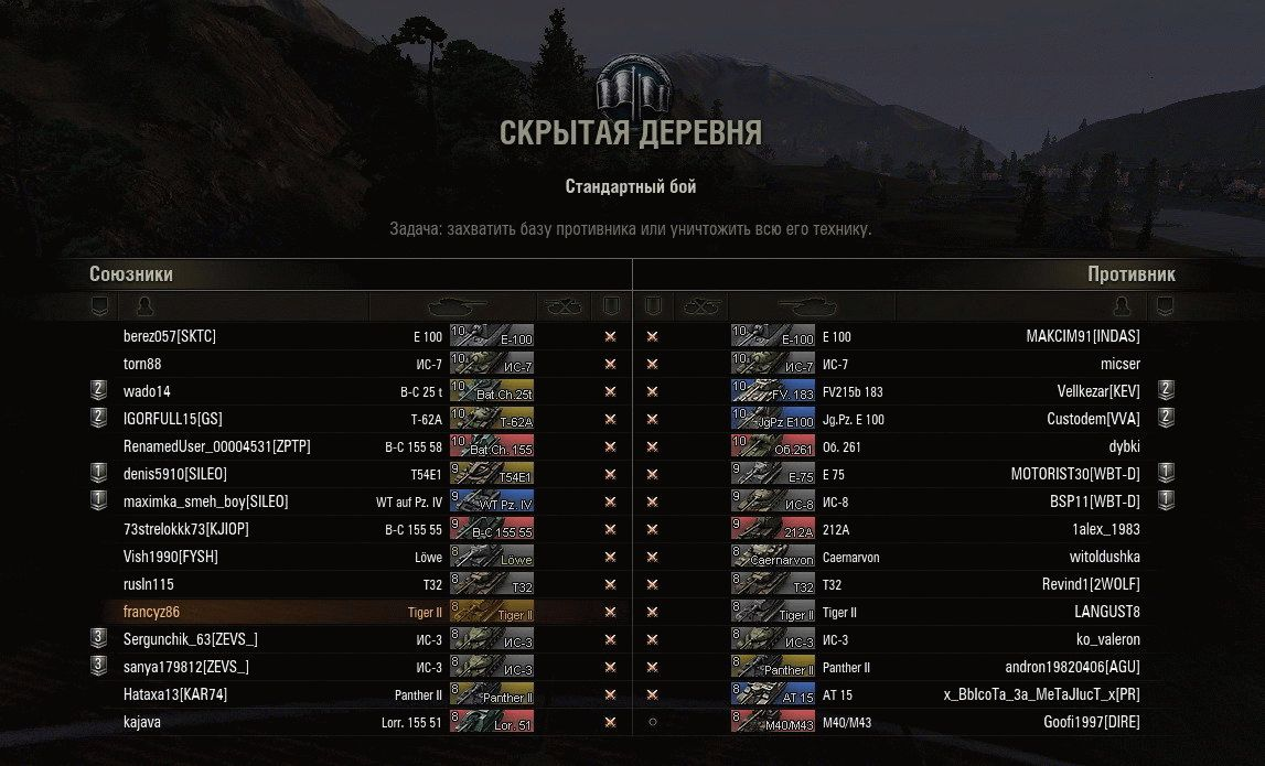 Иконки танков от Djon_999 для World of Tanks 0.9.15.1: aces.gg/mods/mody-dlya-worldoftanks/ikonki/1181-ikonki-tankov-ot...