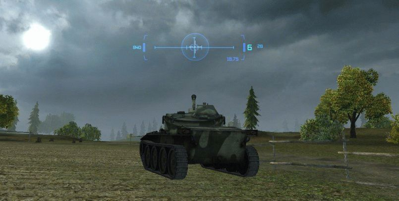 Прицел MeltyMaps для World of Tanks 1.1.0