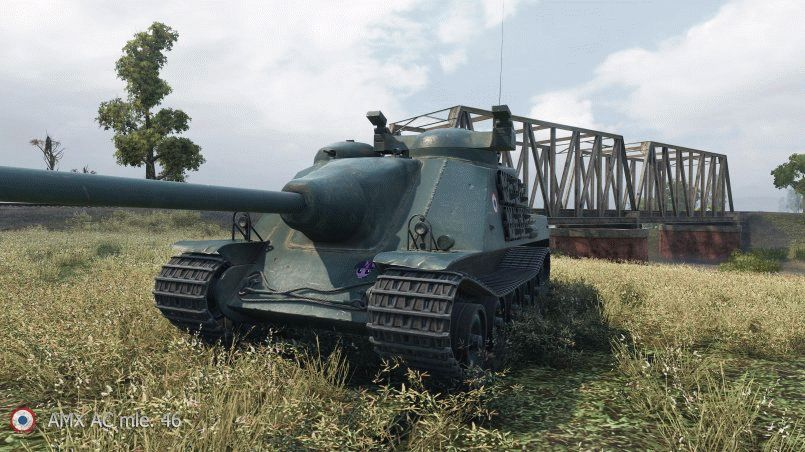 Новые модели в HD: AMX AC mle. 46, Covenanter и Loyd Gun Carriage