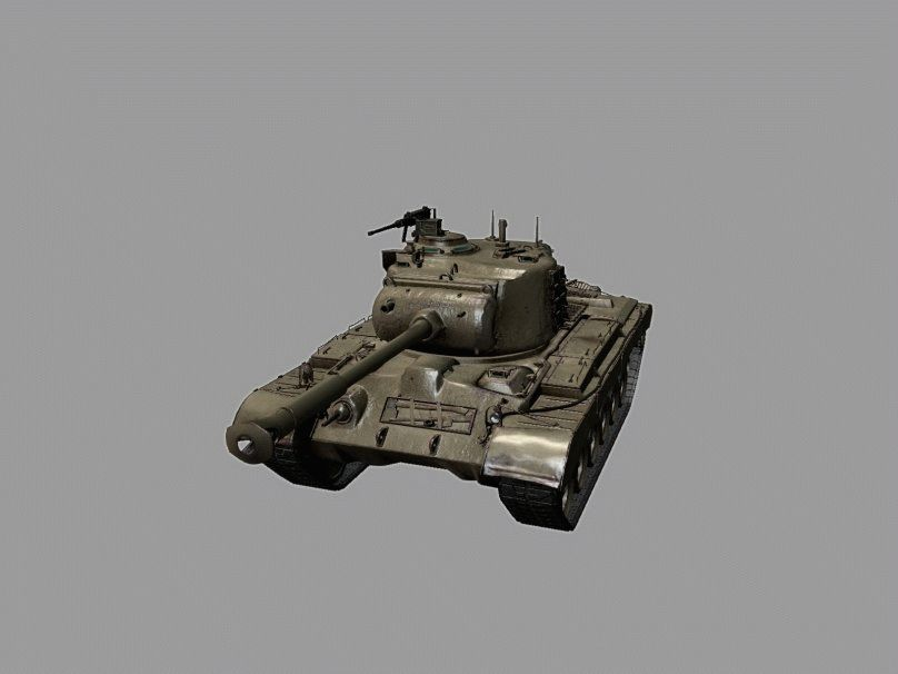 В разработке: M46 Patton KR