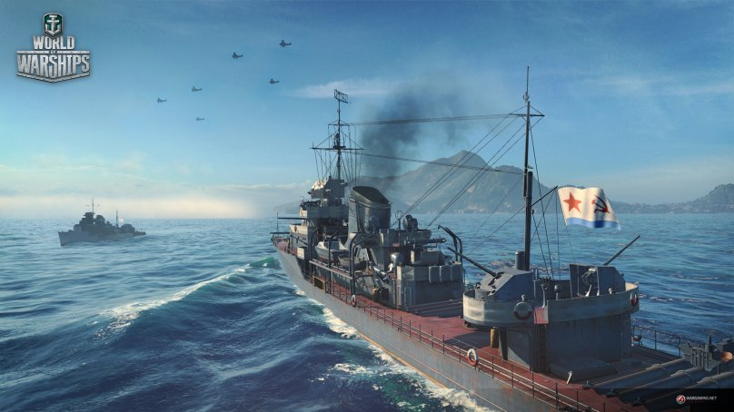 World of Warships. Система видимости. Часть 1: обнаружение кораблей