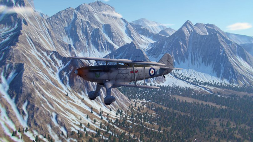 World of Warplanes. Fairey Fantome: призрак из Бельгии
