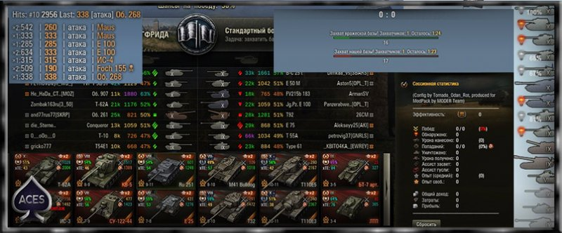High-Informative XVM config для World of Tanks 0.9.18