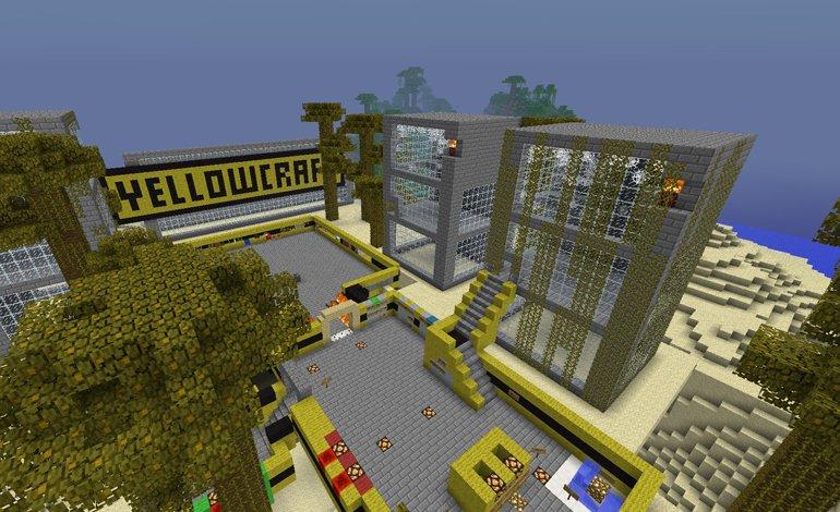 Minecraft сервер с мини играми скачать
