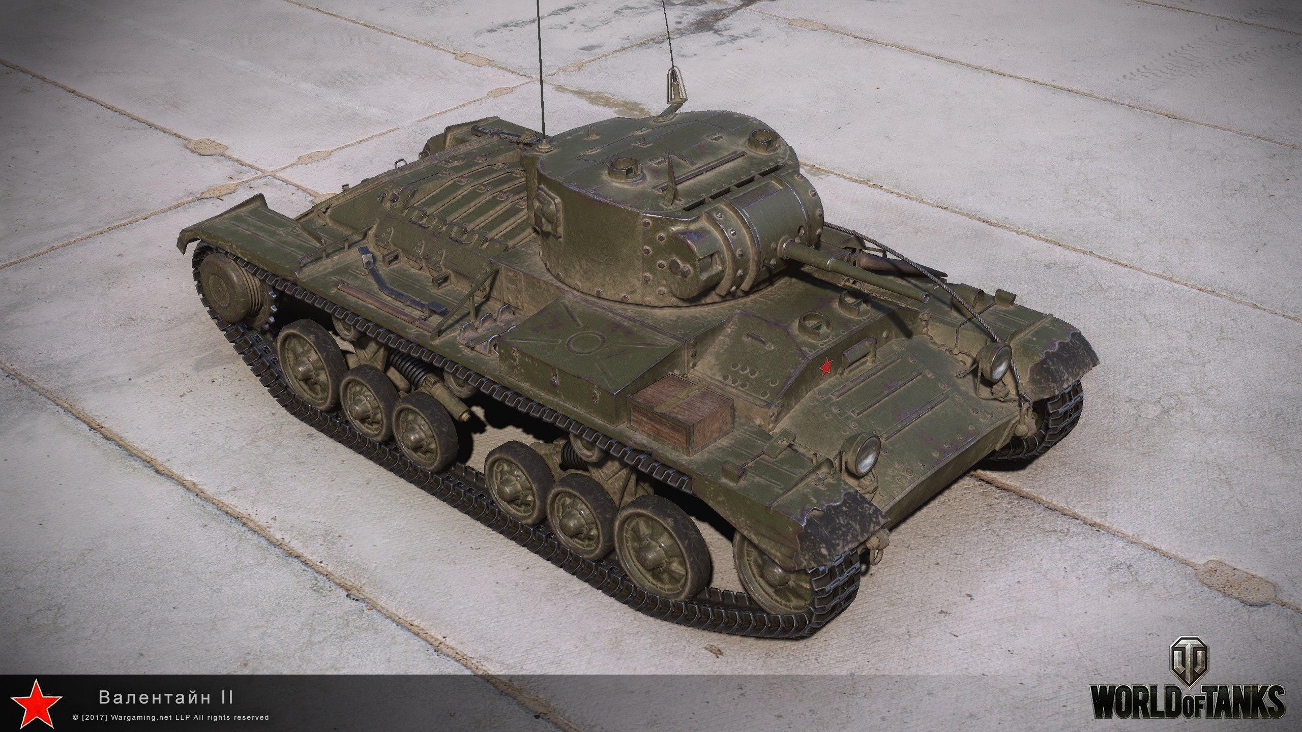 Валентайн II - Танки с World of Tanks